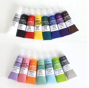 16 Color Art Cofa Fabric Paint 15ml (0.50oz) Choose Each Color Made in Korea