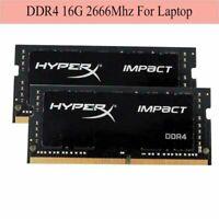 Pour HyperX Impact DDR4 16Go 32Go 64Go 2666MHz PC4-21300 SODIMM RAM Laptop ARFR