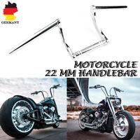 7/8'' 22mm Motorrad Lenker Drag Handlebar für Harley Sportster XL883/1200 Chrom