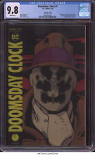 Doomsday Clock #1 2018 CGC 9.8 - Lenticular Cover, 1st app of the new Rorschach