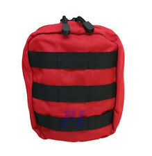 Molle Tactical EMT Medic First Aid Pouch IFAK Utility Bag Carrying Pouch-RED