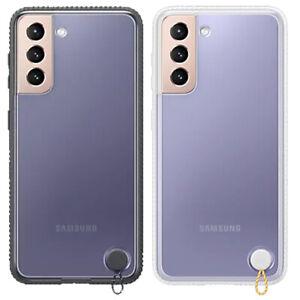 Para Samsung Galaxy S21 5G Claro Protector Cover Funda Transparente Original