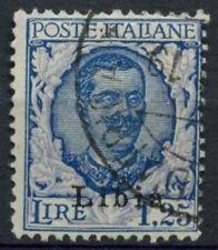 Libya Italian Colony 1928 SG#69 SG#66, 1L25 Blue And Ultramarine Used #A92549