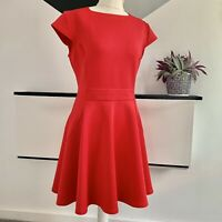 TED BAKER Dress Size 14 RED | SMART Occasion WEDDING Cruise RACES casual
