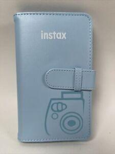 Fujifilm Instax Mini Wallet 108 Photo Album For Instax Film Pictures Light Blue