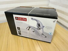 Delta Classic Chrome 521-PPU-DST Centerset WaterSense Bathroom Faucet - Chrome