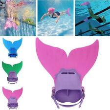 Kids Mermaid Fin Mermaid Monofin Tail Flipper Swimwear