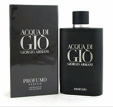 Acqua Di Gio Profumo by Giorgio Armani 6.08 Oz 180ml Parfum Spray For Men