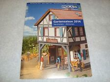 Lgb Pola 399214 New Items 2014 Color 4 Page Flyer G Scale! Brand New Mint!