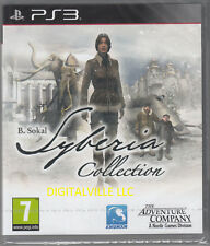 Syberia Complete Collection 1 & 2 PS3 PlayStation 3 Brand New Factory Sealed