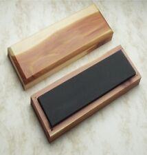 "Surgical Black Arkansas Bench Stone, Extra Fine Grit 1200+, 6 x 2 x 0.5"", 30048"