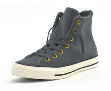 efff8d188163 Converse Chucks Fur Lined Leather Winter BOOTS for Women Grey 557927c 6