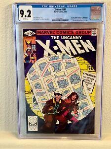 CGC X-Men 9.2 141 Days of Future past John Byrne Chris Claremont