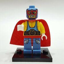 "LEGO Collectible Minifigure #8683 Series 1 ""SUPER WRESTLER"" (Complete)"