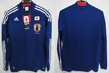 2010-2011 Japan JFA Jersey Shirt Home Climacool Adidas L/S Long Sleeve L BNWT