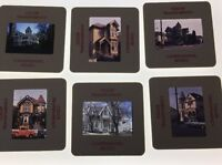 Victorian Houses Vintage Color Slides Lot Of 29