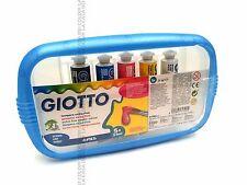 GIOTTO - TEMPERA EXTRA FINE - CONFEZIONE 5 TUBI DA 21 ml - COLORI PRIMARI