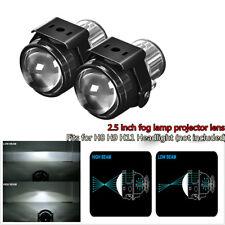 2.5 inch Bi-xenon Fog lights Projector Lens Driving Fog Lamps Car Retrofit Kit