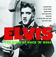 "Elvis Presley : The King of Rock 'N' Roll VINYL 12"" Album (2017) ***NEW***"