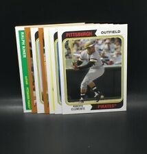 2020 TOPPS ARCHIVES PITTSBURGH PIRATES 8 CARD SET - ROBERO CLEMENTE