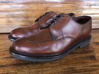 """Men's Allen Edmonds """"Ashton"""" Dress Shoes Brown Leather Size 8 E"""