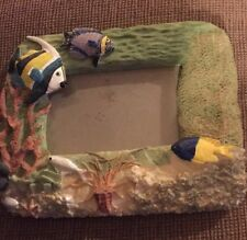 Fish and Coral Reef Picture Frame