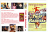 THIEF OF BAGHDAD (THE BLUE ROSE) STEVE REEVES + HERCULES W/S ~ 2 DISC CASE ART