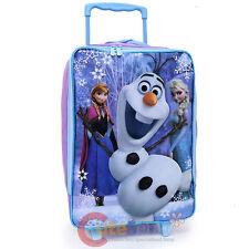 Disney Fozen Pilot Case Rolling Luggage Olaf Elsa Anna  Suite Case Travel Bag