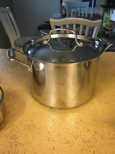 NEW CUISINART 766-24 CHEF'S CLASSIC STAINLESS STEEL 8-QUART STOCKPOT AND COVER