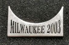 2003 Harley Davidson 100th Anniversary MDA Open Road Tour Milwaukee Pin New