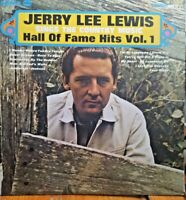 Jerry Lee Lewis ~ Country Music Hall Of Fame Hits 1969 Vinyl Record SRS 67117