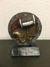 "4"" Football Resin Trophy - Free Engraving"