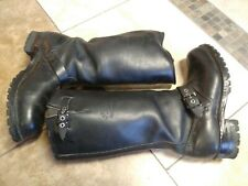 New listing Carolina Engineer Boots Tall 10 Men Harness Western Leather Motorcycle Police