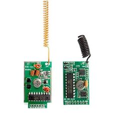 4KM Long Range RF Link Transceivers Kits With Encoder And Decoder - 433Mhz