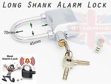 Caña Alarma Moto Caseta Cerradura Largo Sensor De Movimiento Alarmas Antirrobo Candado 110db