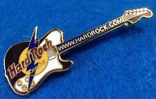 ONLINE PROTOTYPE WEBSITE LIGHTNING BOLT TELECASTER GUITAR Hard Rock Cafe PINS