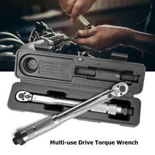 Multi-use Drive Torque Wrench Adjustable Hand Spanner Ratchet Auto Repair Tools
