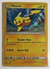 Pokemon TCG Card - Pikachu SM81 - Rare Holo Promo - Mint NM