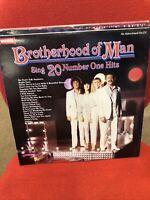 Brotherhood of Man - Sing 20 Number One Hits - Vinyl Record LP