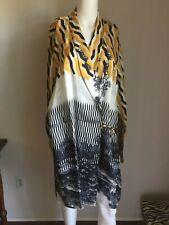 NWOT DRIES VAN NOTEN Viscose Long Wrap Jacket DRESS M SOLD OUT $1290 PRISTINE
