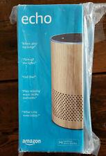 NEW & SEALED Amazon Echo (2nd Gen) Smart Assistant Speaker w/ Alexa - OAK FINISH