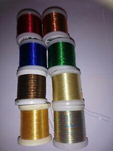 Madeira Metallic Thread - Joblot - 6 reels