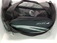 PUMA PROCAT Lightweight DUFFLE BAG Medium Sport Gym Bag Shoulder Strap Grey