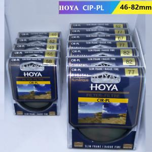 HOYA 46-82mm CPL Circular Polarizing CIR-PL FILTER NEW for Sony Canon Nikon Lens