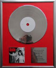 """Dido - Life for rent CD Cover +12"""" Vinyl goldene /platin Schallplatte"""
