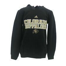 Colorado Buffaloes Official NCAA Adidas Kids Youth Size Hooded Sweatshirt New