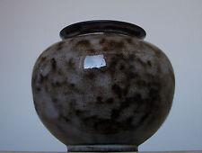 Vintage 1960s-1970s German STUDIO Pottery Vase impressed mark Fat Lava Period