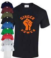 Ginger Power Tshirt,Harry Tee Ed T-Shirt Ron Hair Feminist Adult Kids SM - XXXL