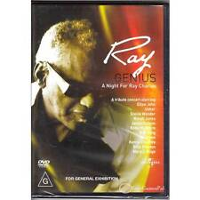 DVD RAY GENIUS A NIGHT FOR RAY CHARLES EXTENDED TRIBUTE 2004 MUSIC BIO R4 [BNS]