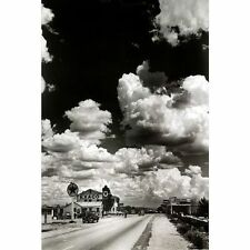 ROUTE 66 - VINTAGE HIGHWAY POSTER - 24x36 USA FREEDOM ROAD CAR SKY 36430